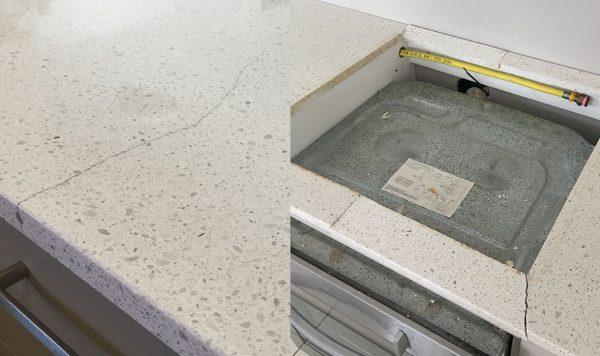 crack caesarstone granite crack marble crack stone benchtop crack repair kit