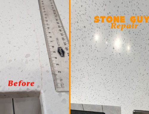 Caesarstone Repairs Before & After