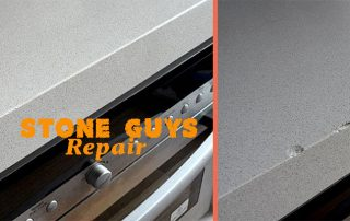 stone benchtop chip repair by stone guys