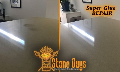Repair Types Stone Benchtop Repair Caesarstone Polish