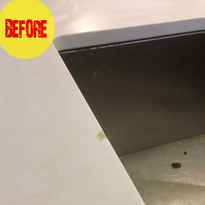before caesarstone chip repair kit bunnings