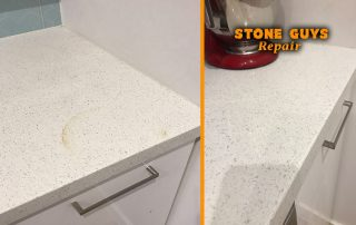 burn caesarstone heat damage stone benchtop burn essastone etch silestone smartstone