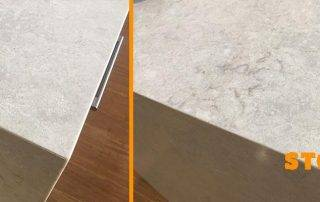 caesarstone crack join repair
