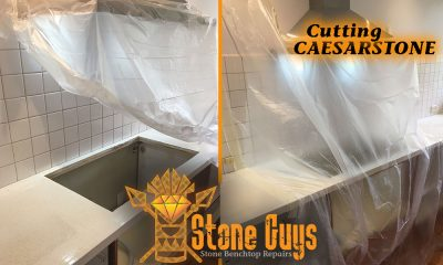 cutting caesarstone cutting granite service brisbane sunshine coast melbourne
