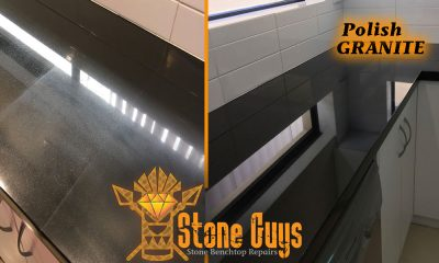 REPAIR TYPES Stone Benchtop Repair - Caesarstone Polish Repair Dull