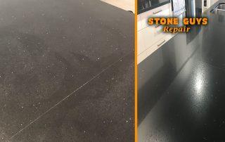 acetone stain watermark caesarstone quartz stone benchtop