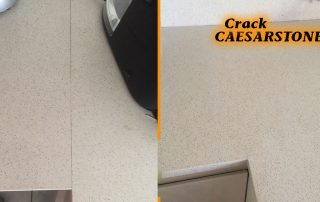 caesarstone crack repair brisbane melbourne sydney canberra perth stone benchtop crack repair brisbane sunshine coast